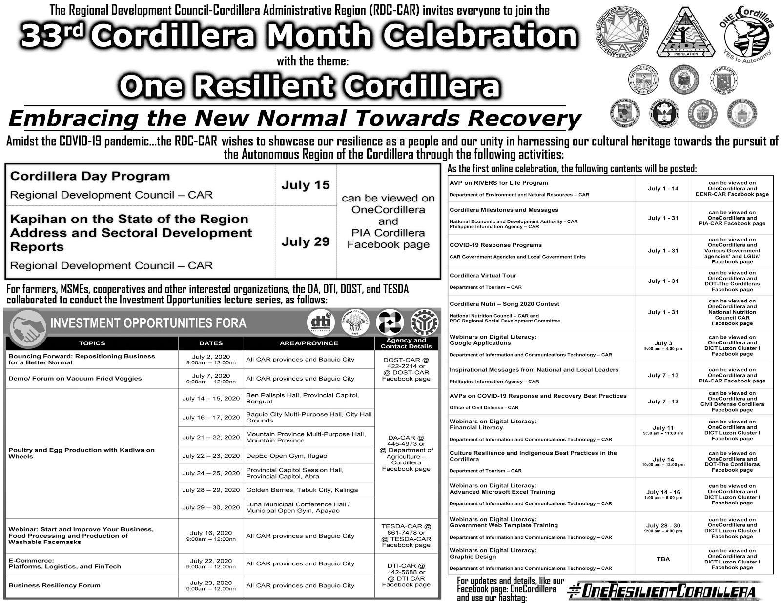 Happy Cordillera Month