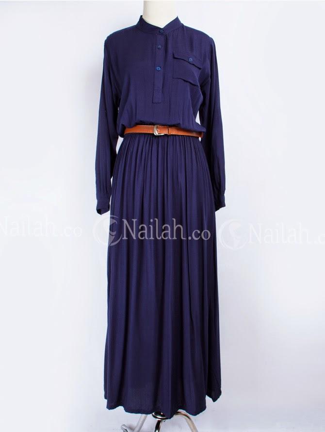 Baju Muslim Terbaru 2014 Busana Muslim Gamis Katun