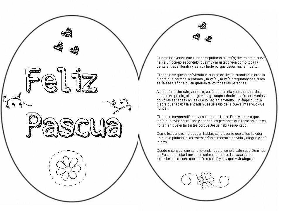 Cris- Religión: LEYENDA DEL HUEVO DE PASCUA