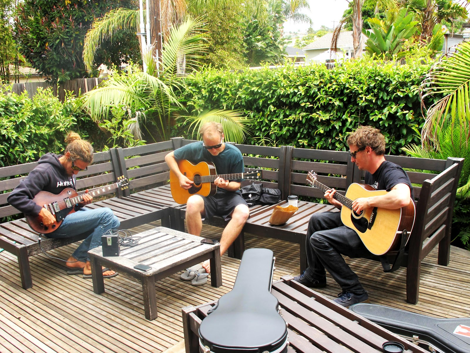 backyard bbq jams with ben howard and friends