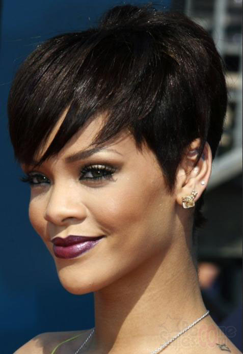 2013 short asymmetrical haircuts designs for the asymmetric short