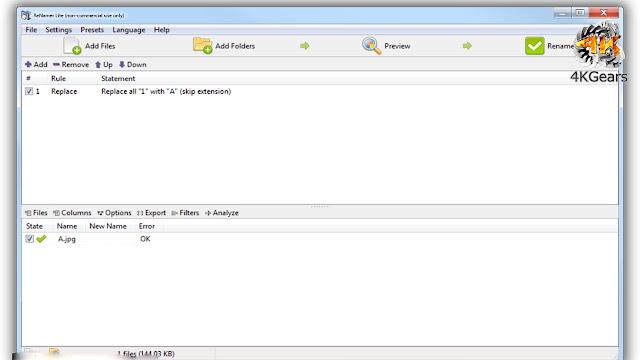 Download ReNamer 6.3.0.0