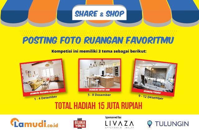 Info Kontes - Kontes Foto Lamudi Indonesia #ShareAndShopLamudi