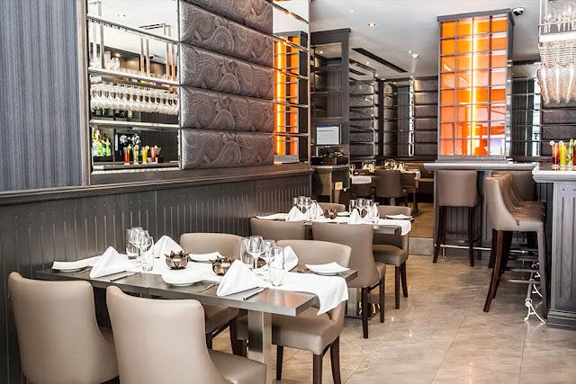 Lotus restaurant interior