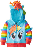 My Little Pony Girls' Rainbow Dash Hoodie