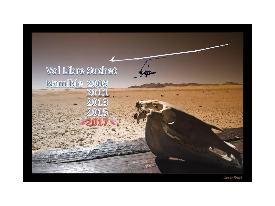 Vol Libre Suchet - Namibie
