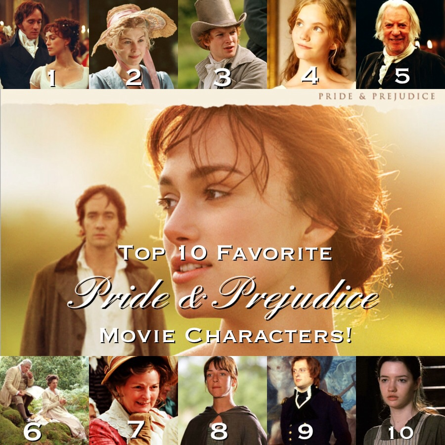 characterization in pride and prejudice Read this full essay on the male characters in pride and prejudice jane  austen has a great talent for developing her characters into what she envisions j.