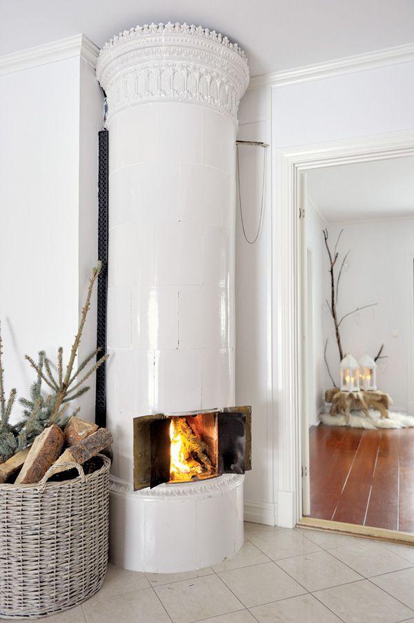 coastal style fireplaces scandinavian style