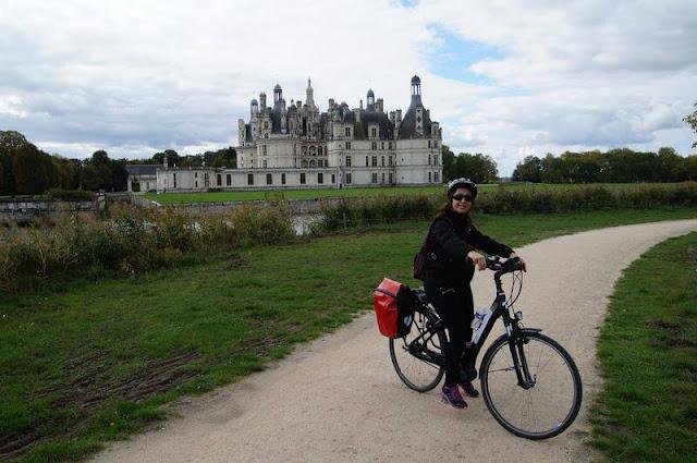 castillo de chambord, bici por el Loira, castillos del loira