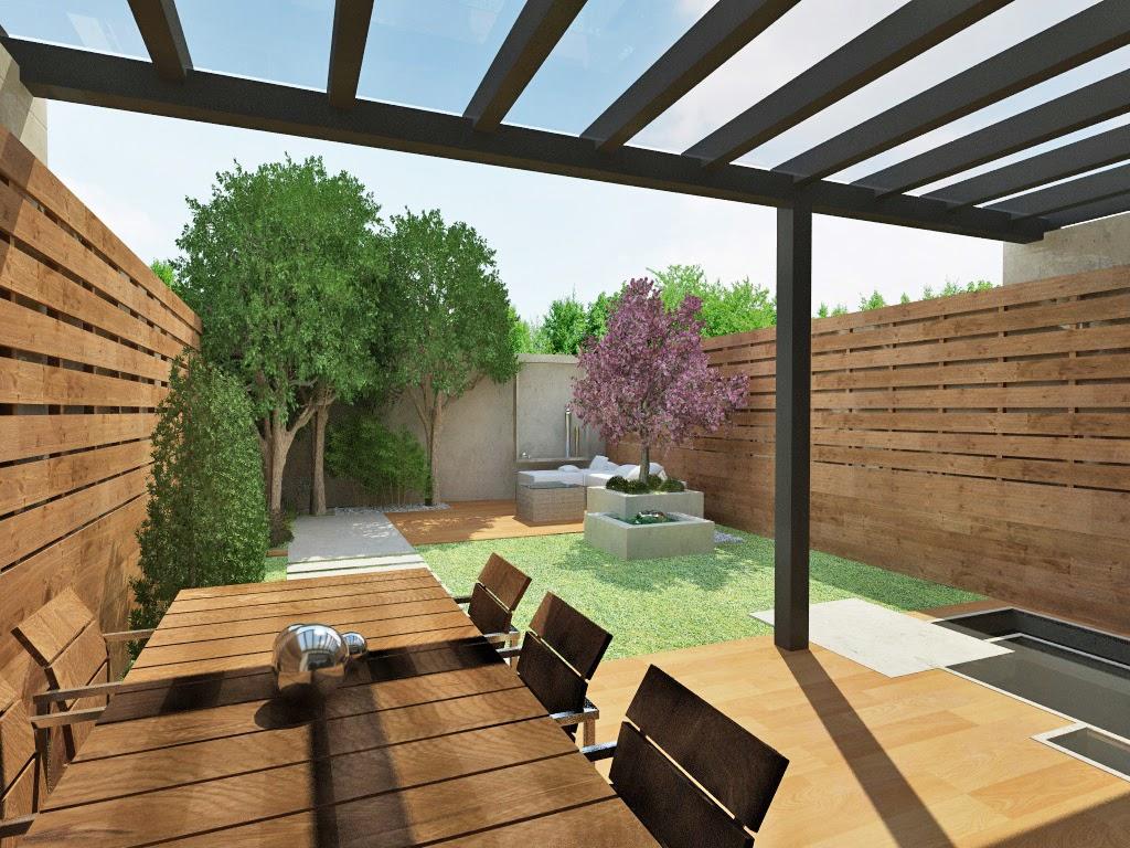 Cynara arquitectura y paisaje dos ambientes proyecto for Viviendas jardin