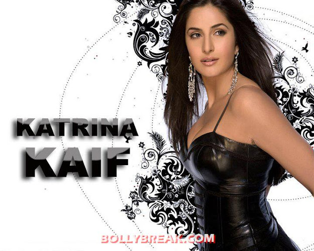 Katrina Kaif hot Black Dress - Cute Cleavage - (2) - Katrina Kaif Hot Unseen Photos