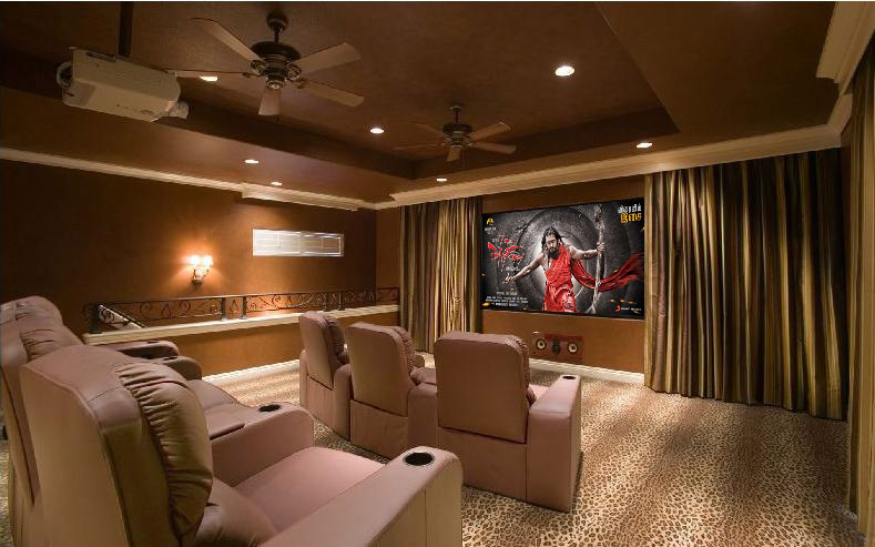 Inspirational Ideas For Home Theatre Rooms Indian Home Decor