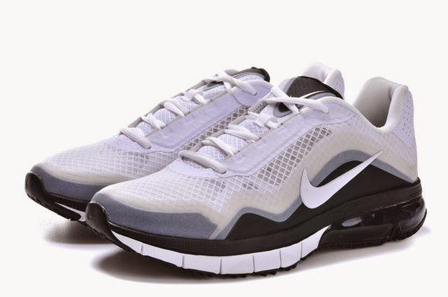 Authentic Nike Air Max 2013 TR 180 Men White Black Running Shoes