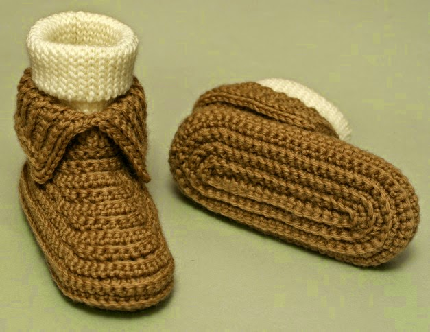 FREE Easy Crochet Slipper Patterns