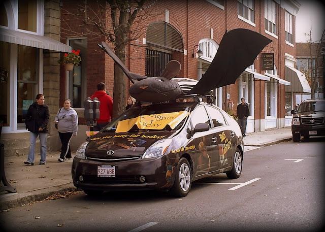 Batmobile, Salem, Massachusetts, car, halloween, fall, autumn