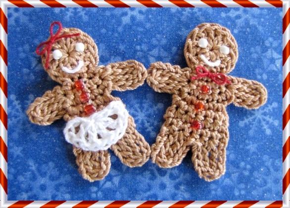 Bellacrochet Little Gingerbread Boy And Girl A Free Crochet