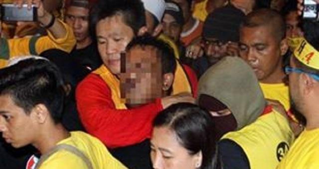 Empat peserta Bersih tercedera akibat mercun, Seorang Lelaki ditahan