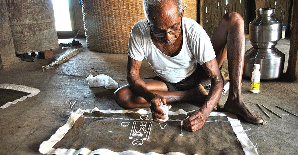 Warli artist Jivya Soma Mashe
