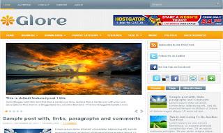 Glore Blogger Template