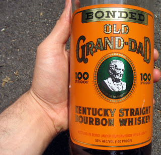 Old Grand Dad Whiskey bottled in bond