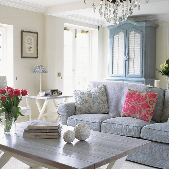 New home interior design collection of country living for French chic living room