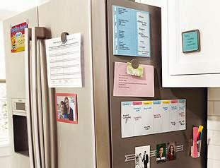 post it home organization