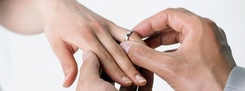 Photo Couverture facebook bague de mariage