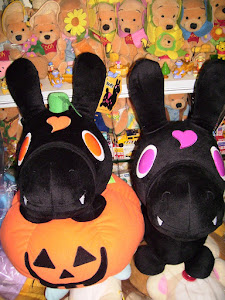 2010 Halloween Pumpkin Rody Plush Set