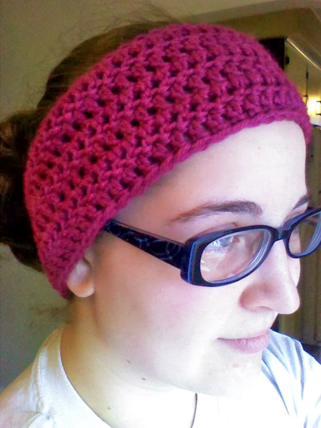 The Hippy Hooker Plain Jane Crochet Headwrap