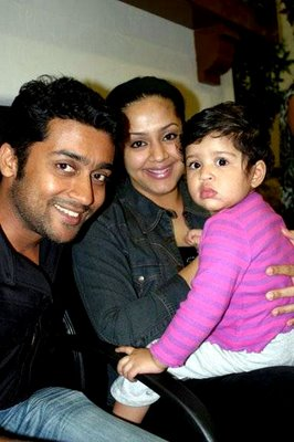 Rare Surya Family Photos