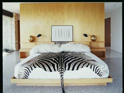 Zebra Bedroom Decorating Ideas