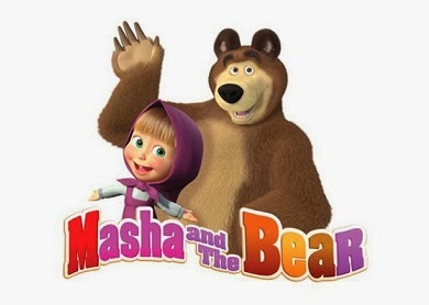 on #askme: masha and the bear : satu lagi, kartun favorit zora