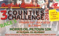 10k race in Piltown, Kilkenny...Fri 31st July