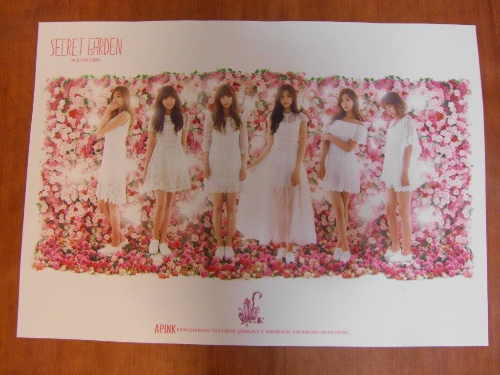 APINK - Secret Garden [OFFICIAL] POSTER K-POP *NEW*