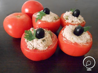 tomate recheado - Ideia do Dia 1