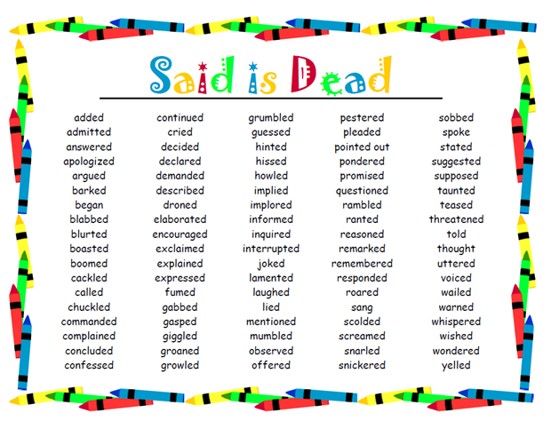 iHeartLiteracy: Friday Freebie: Said is Dead