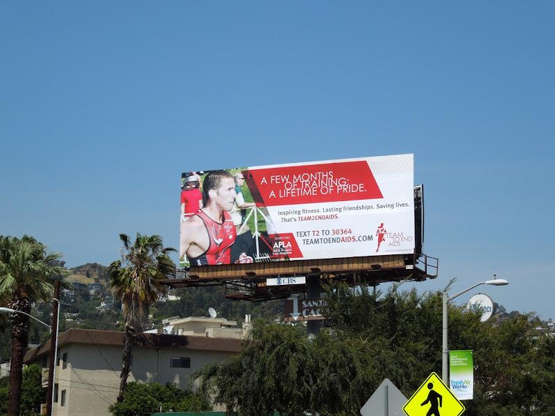 Team to End AIDS billboard