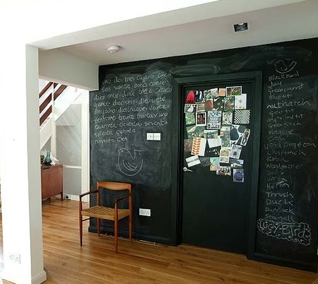 Decora tu hogar con paredes pizarra decoraciones cocinas - Home disena y decora tu hogar ...
