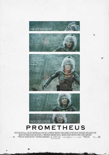 Check Out Some Awesome Fan Made Retro PROMETHEUS Poster