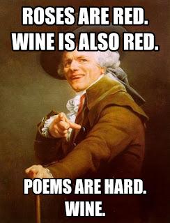 Wine, poem, funny,