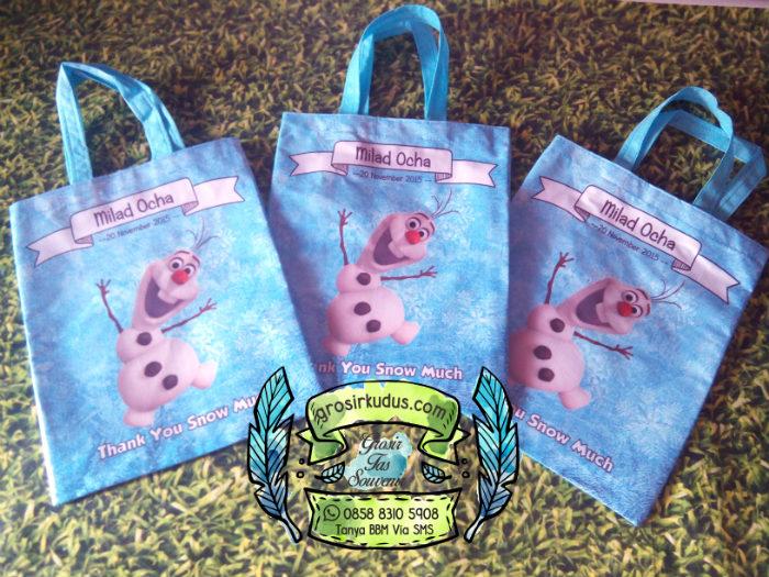 Tas souvenir ulang tahun olaf frozen