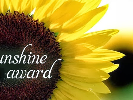Sunshine award !!