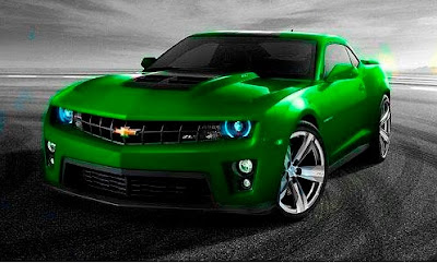 2012 Chevrolet Camaro ZL1 Green Color