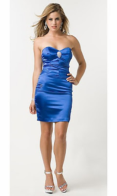 Short Strapless Dress by Atria 5132
