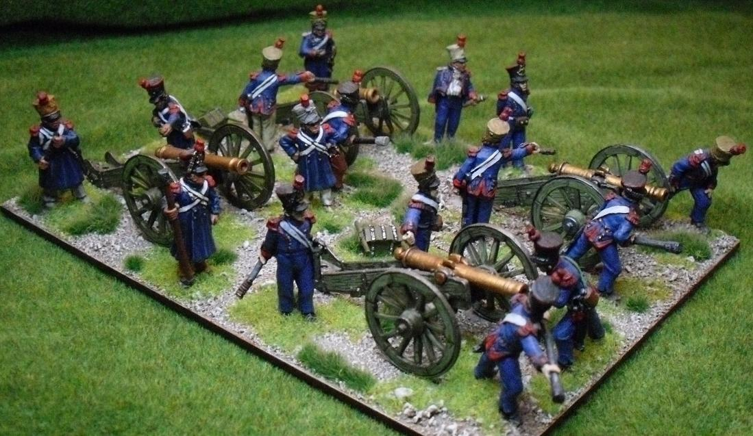 French Artillery Green Paint