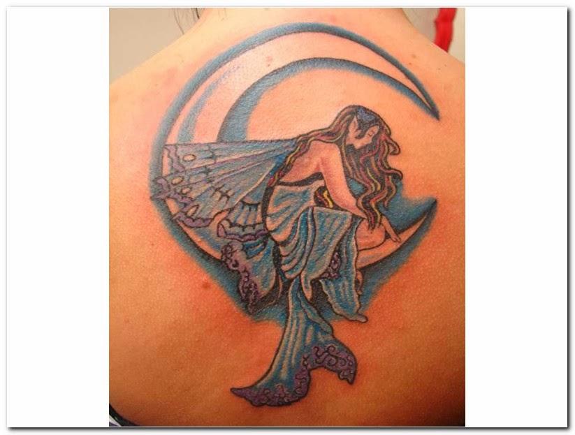 Moon Tattoo For Men