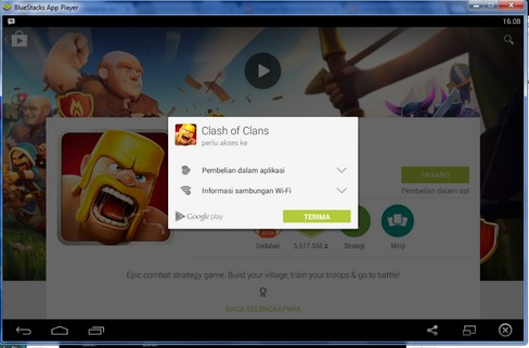 Cara Install Game Clash of Clans di PC