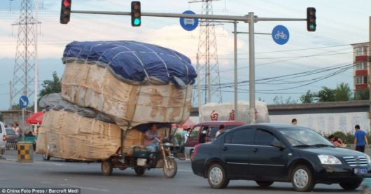 Heavy load transport