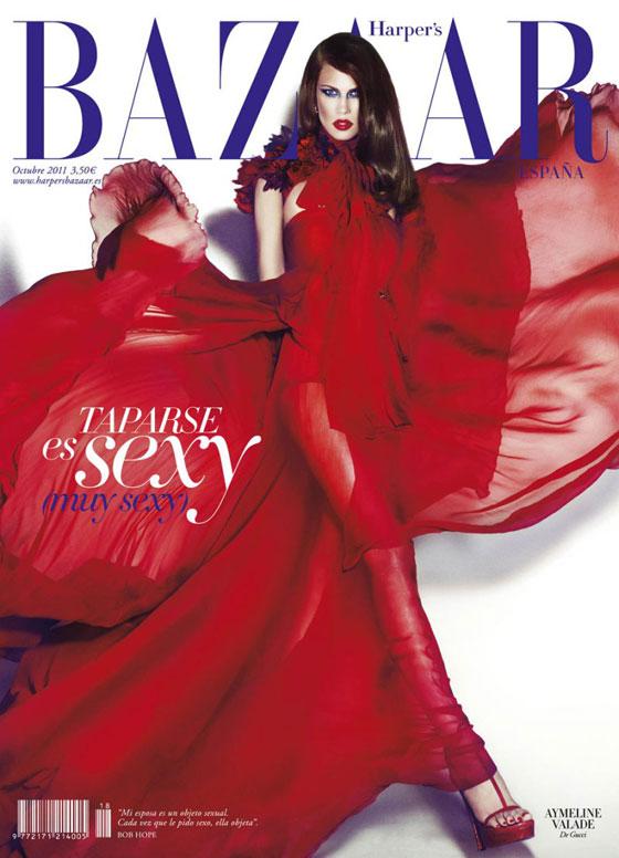 Harper's Bazaar España octubre 2011