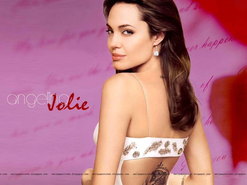 wallpapertreat: angelina jolie hot wallpapers